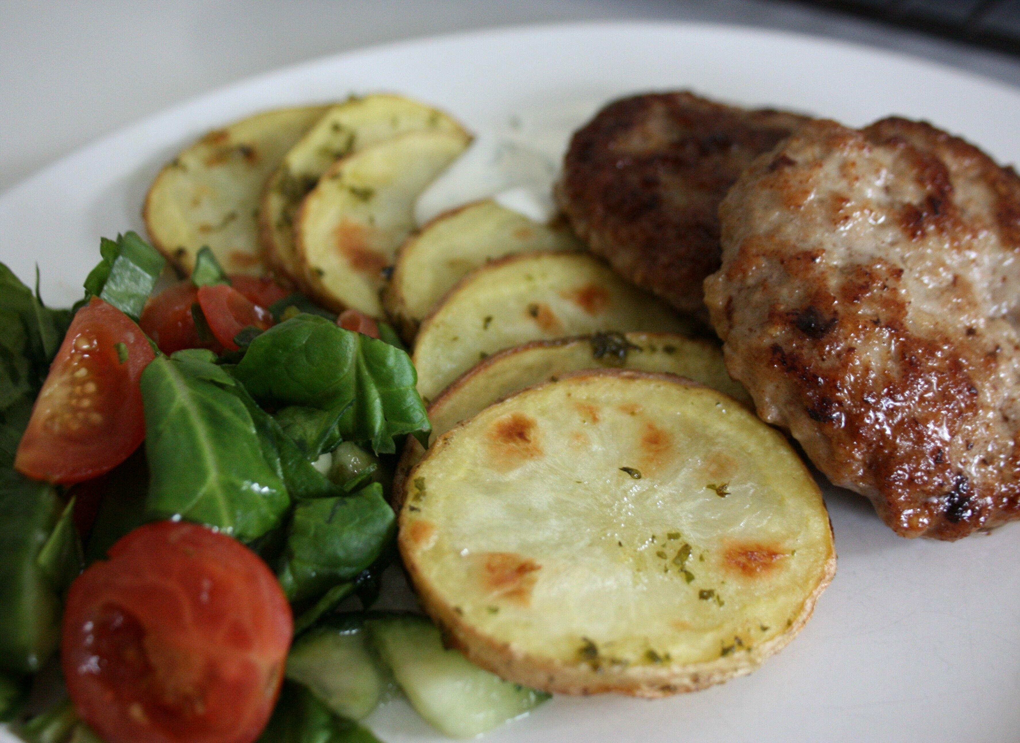 festlig potatis