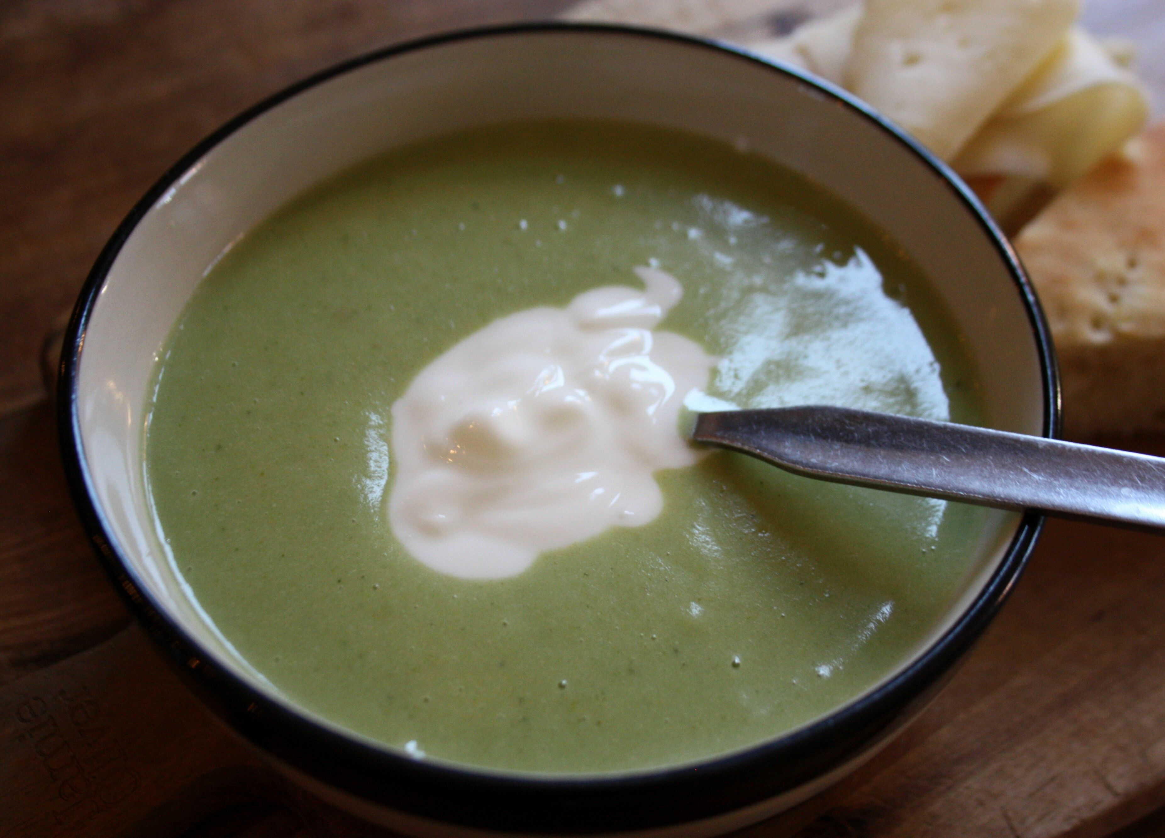 soppa broccoli