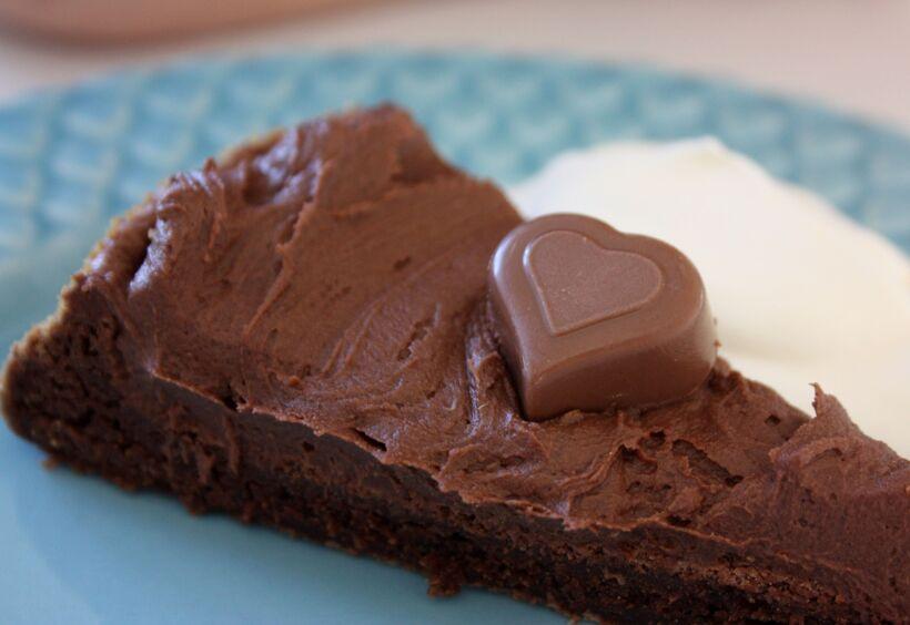 chokladtårta frosting