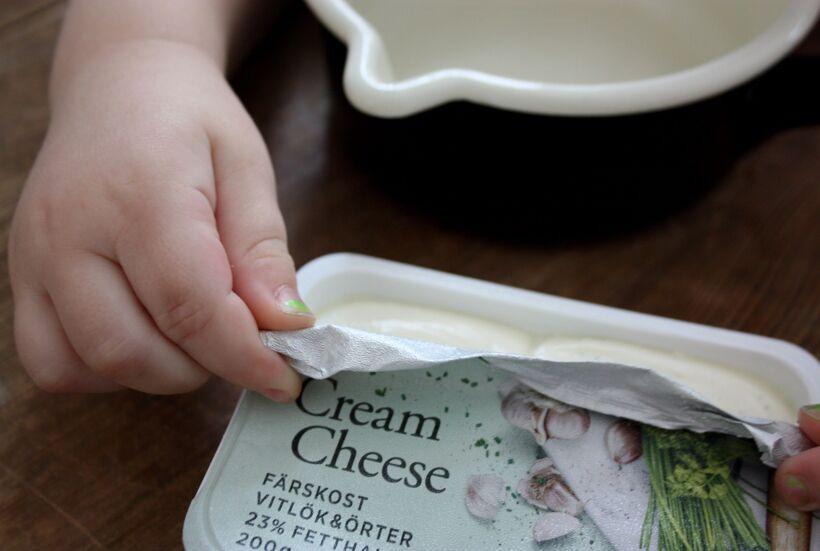 cream cheese tips