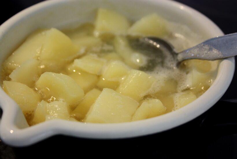 koka potatis snabbt