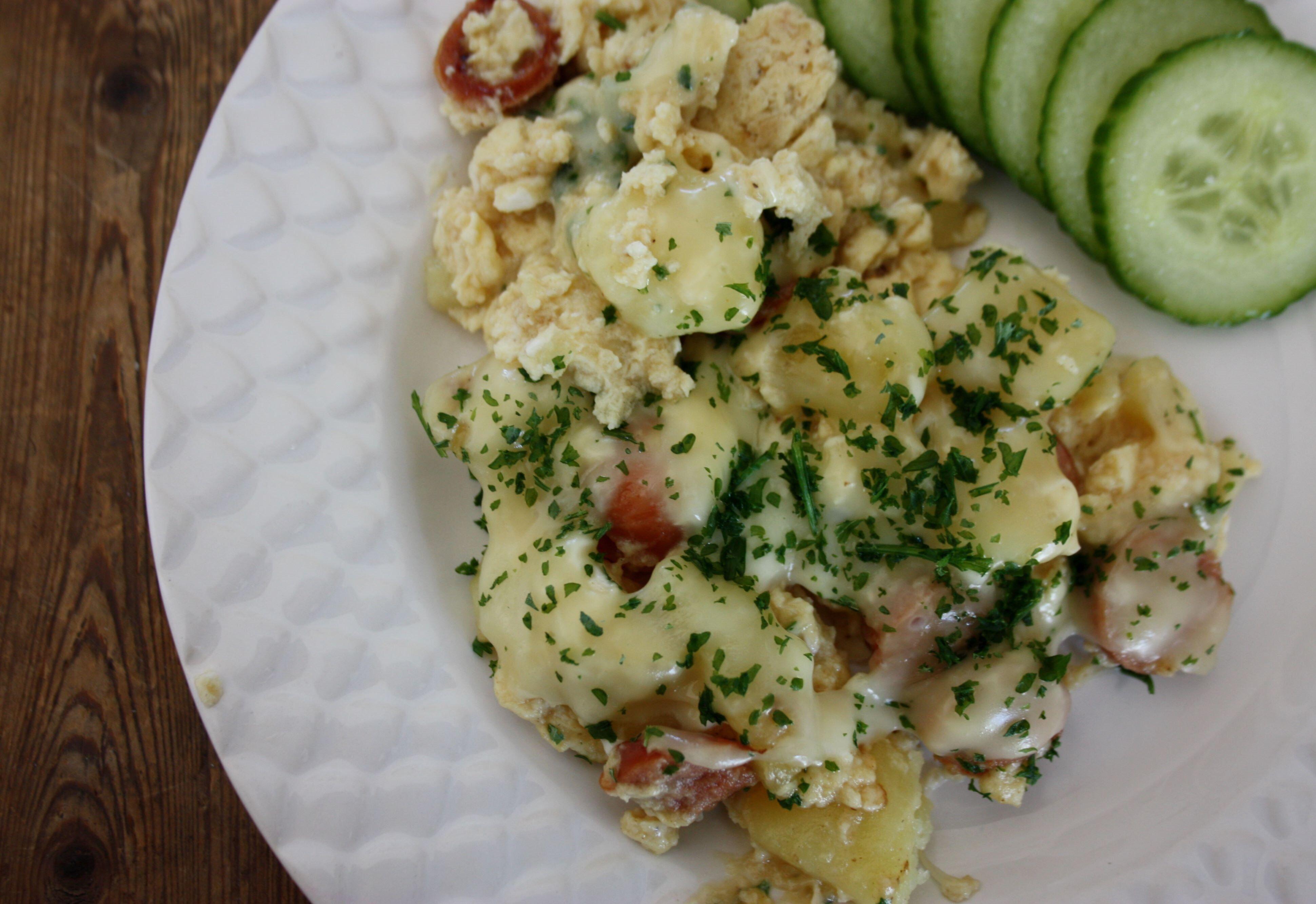 omelett potatis