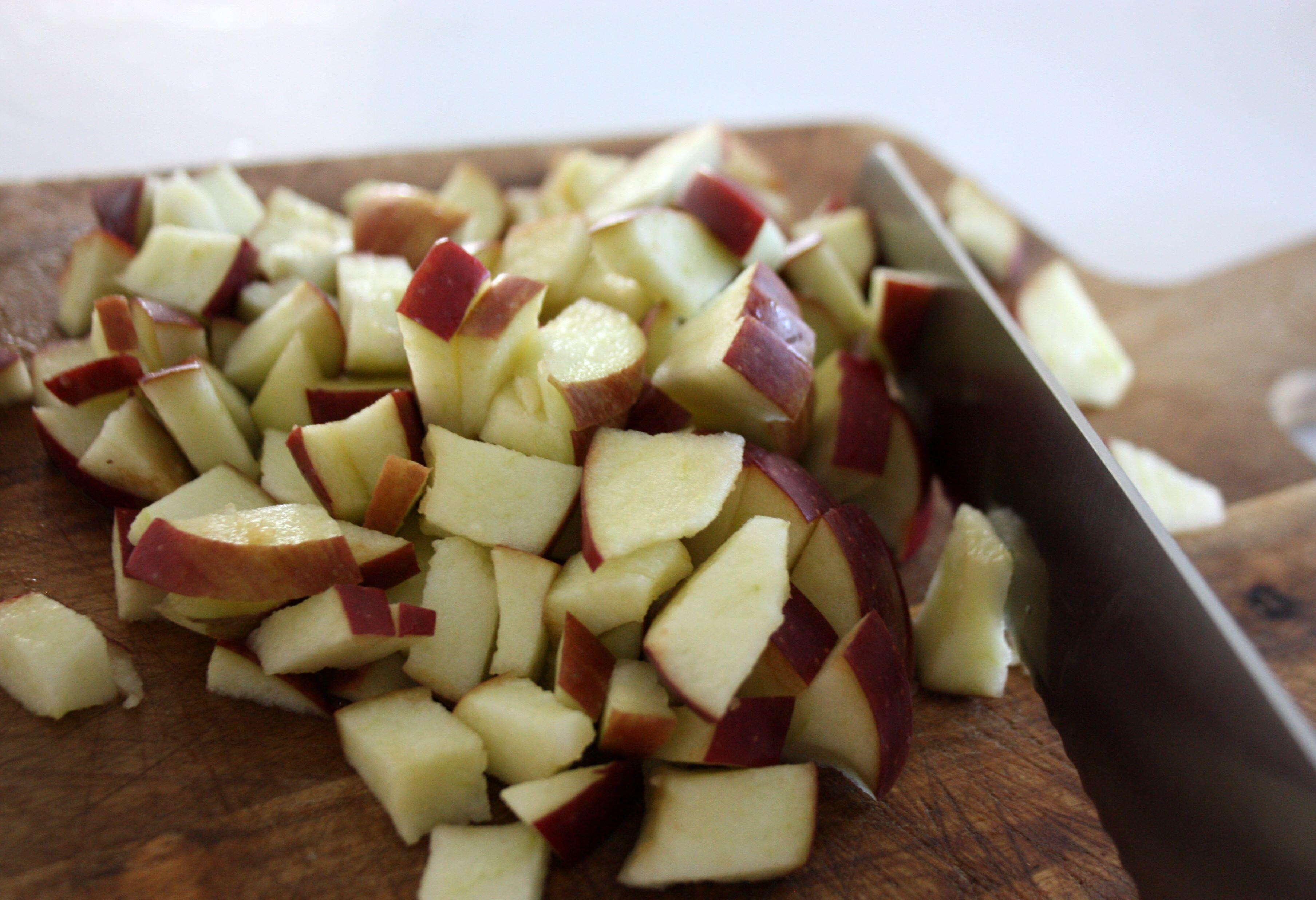 tärna äpple kniv