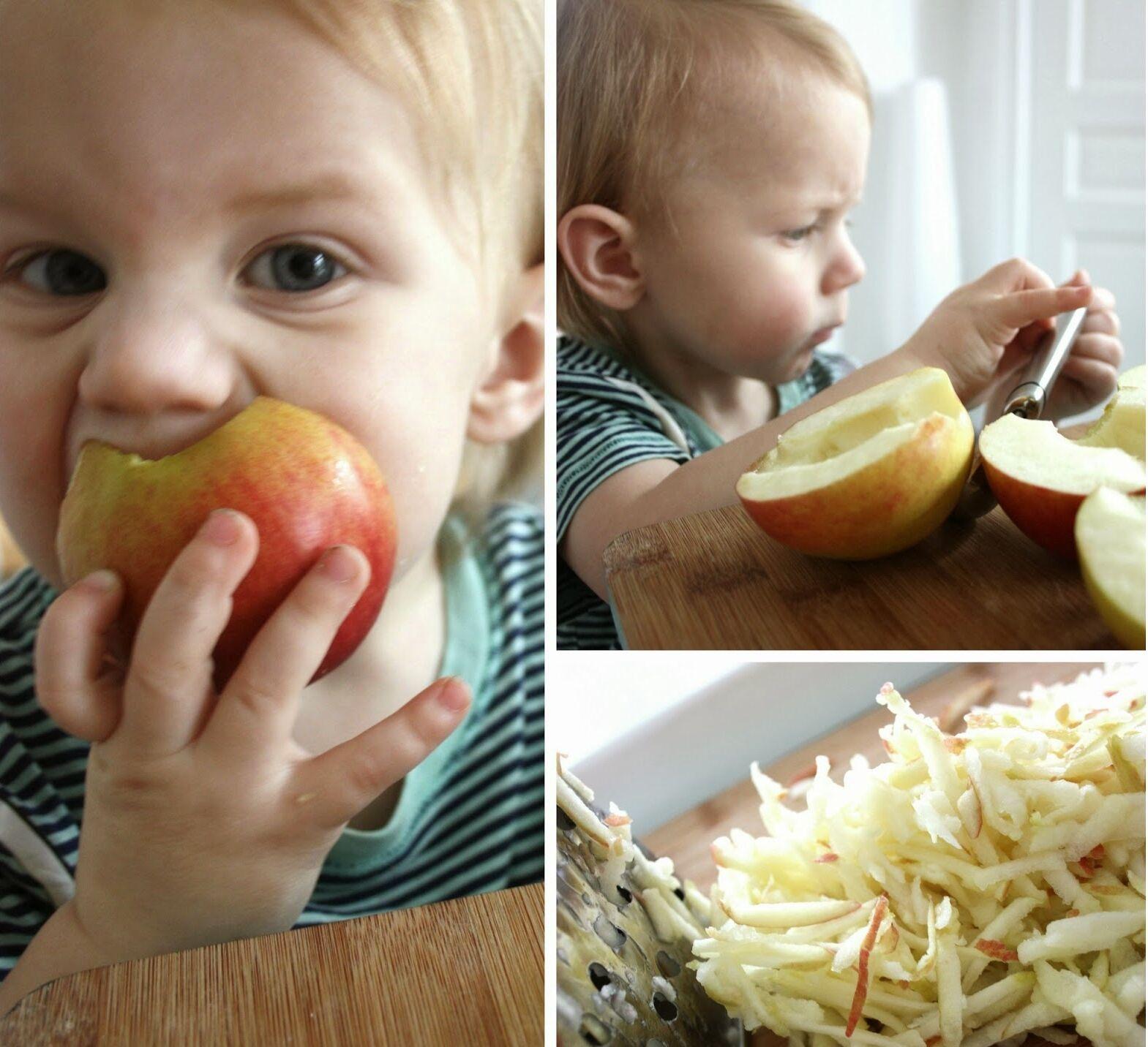 äppelbröd rivet