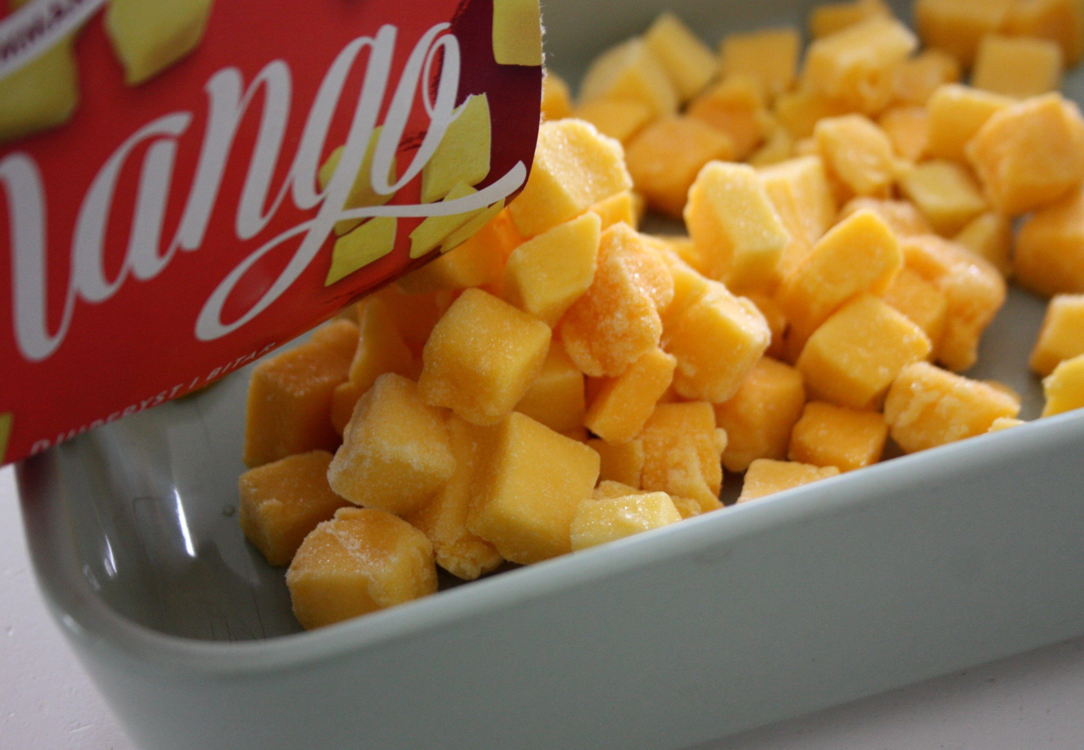 fryst mango