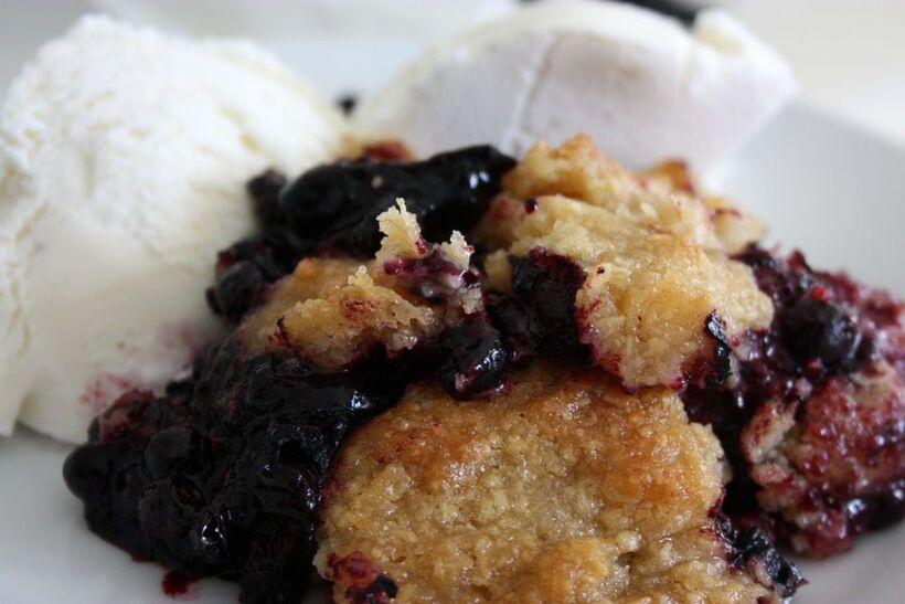 blåbärspajen recepten