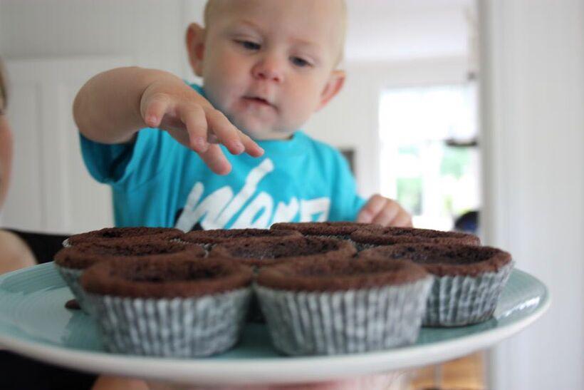 kladdis muffins kakao