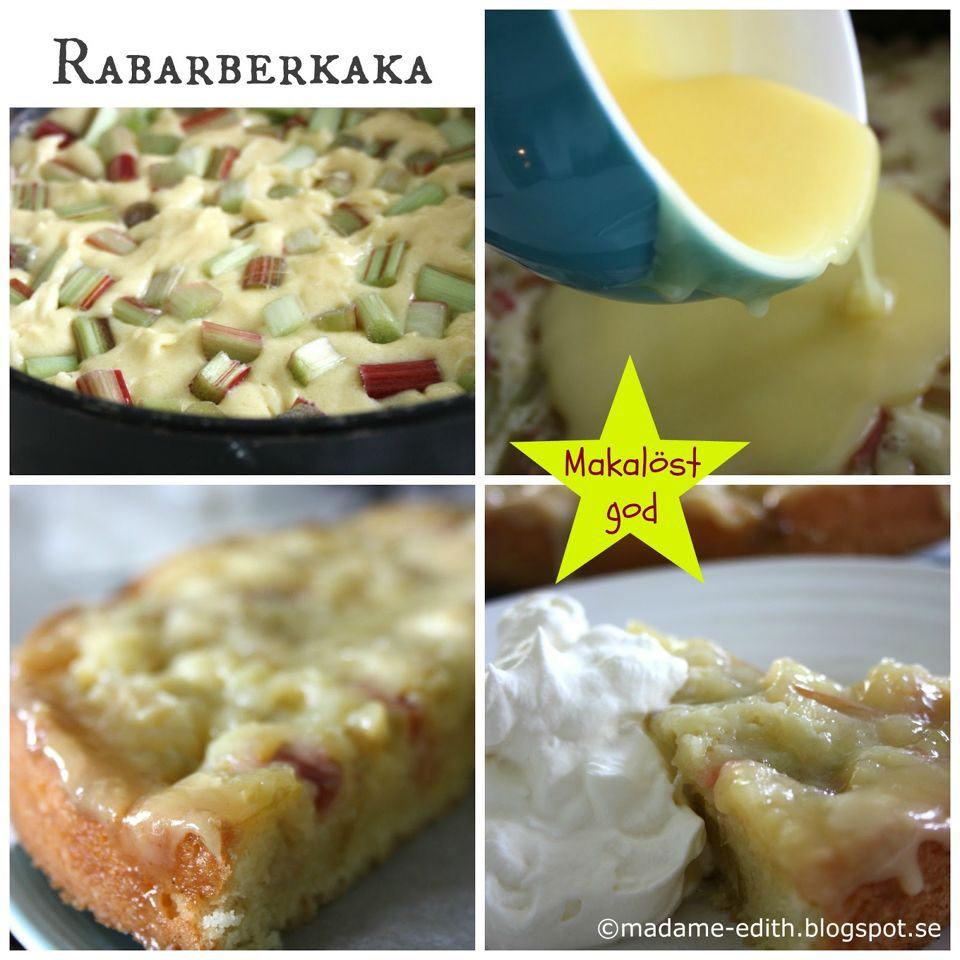 recepten rabarber topping