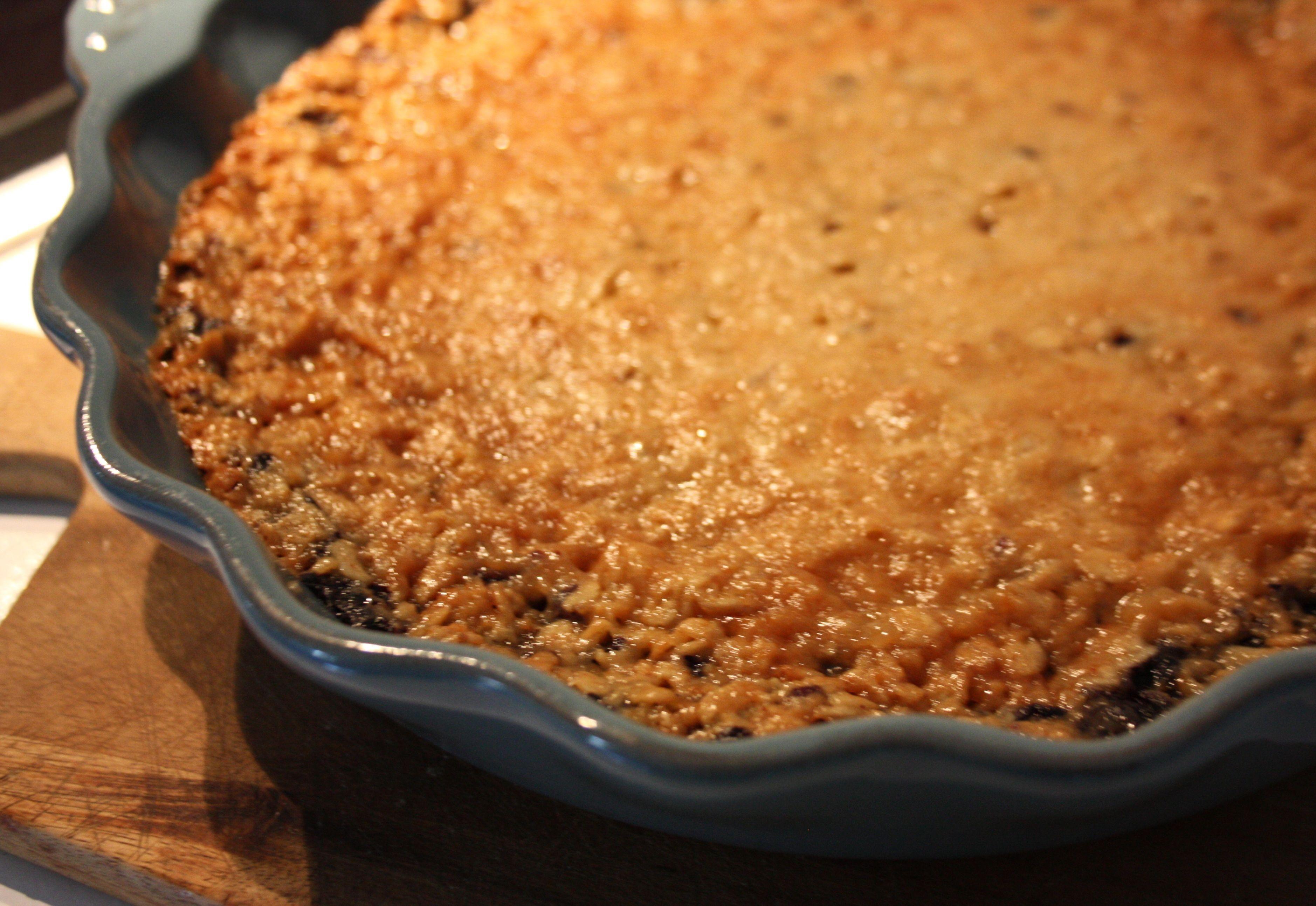 blåbärspaj knäckig recept