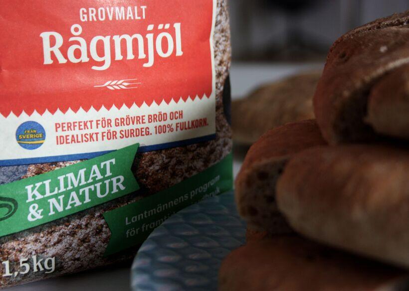 rågmjöl brödet