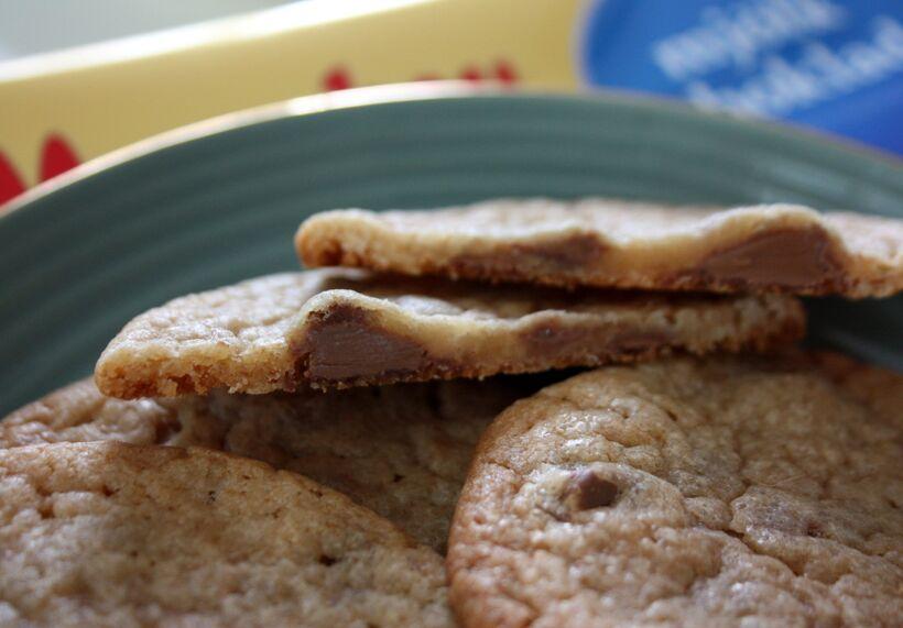 mjölkchoklad kaka cookie