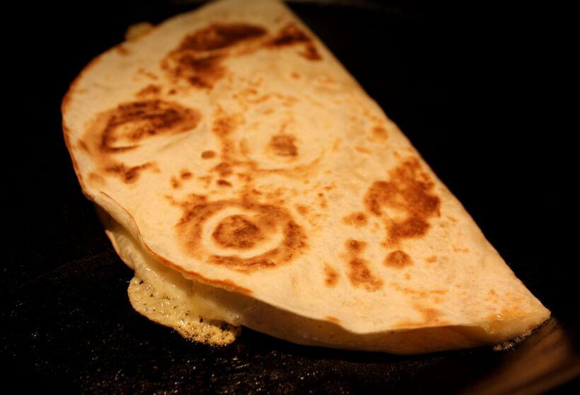 smält ost tortilla