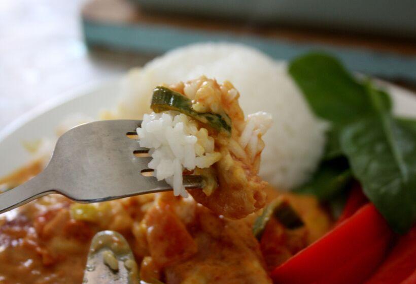 falukorv curry