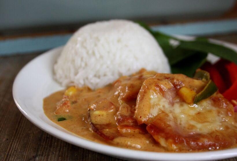 falukorvgratäng curry