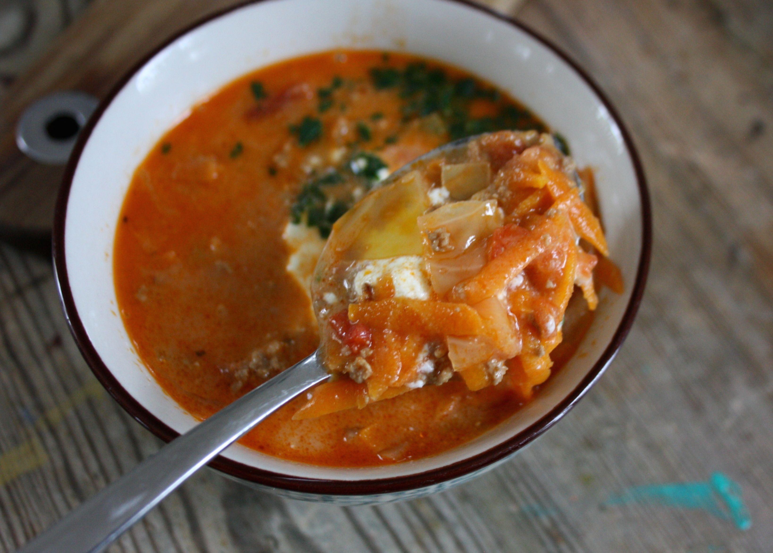 soppa köttfärs morot