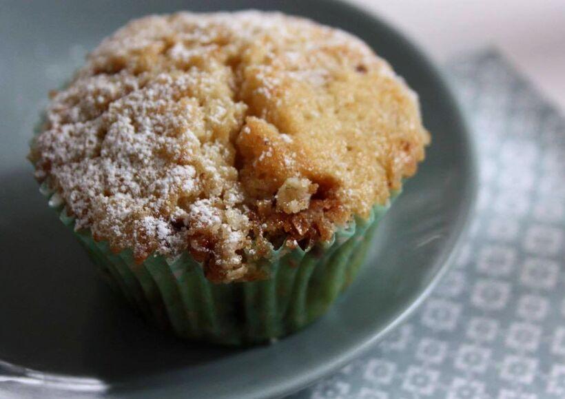 muffins crumble daim