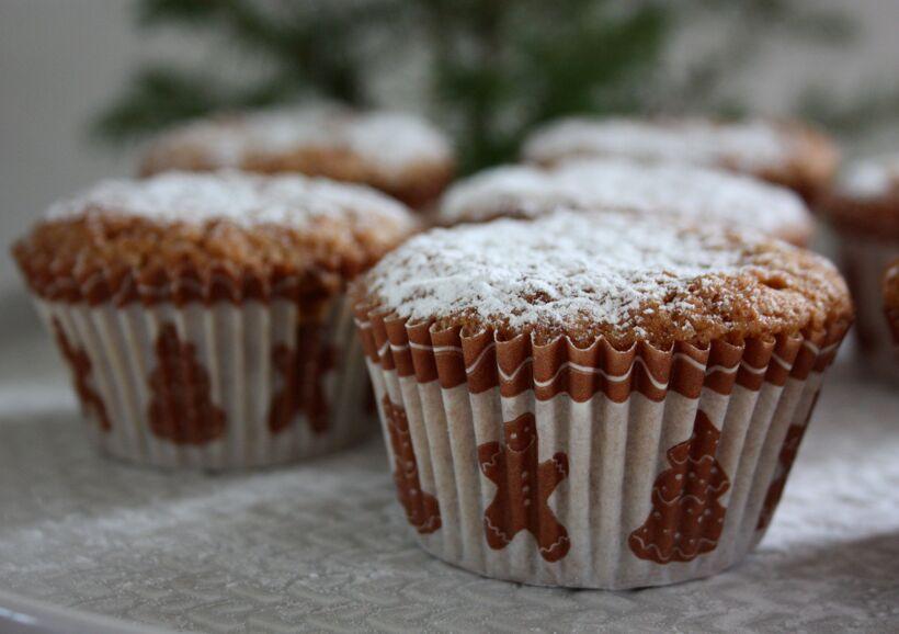 pepparkaks-muffins
