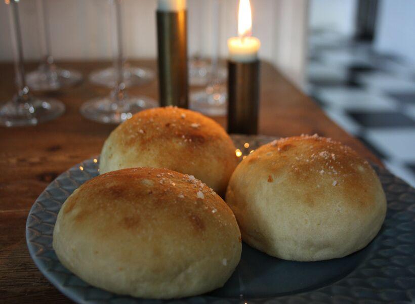 bröd vitlökssmak