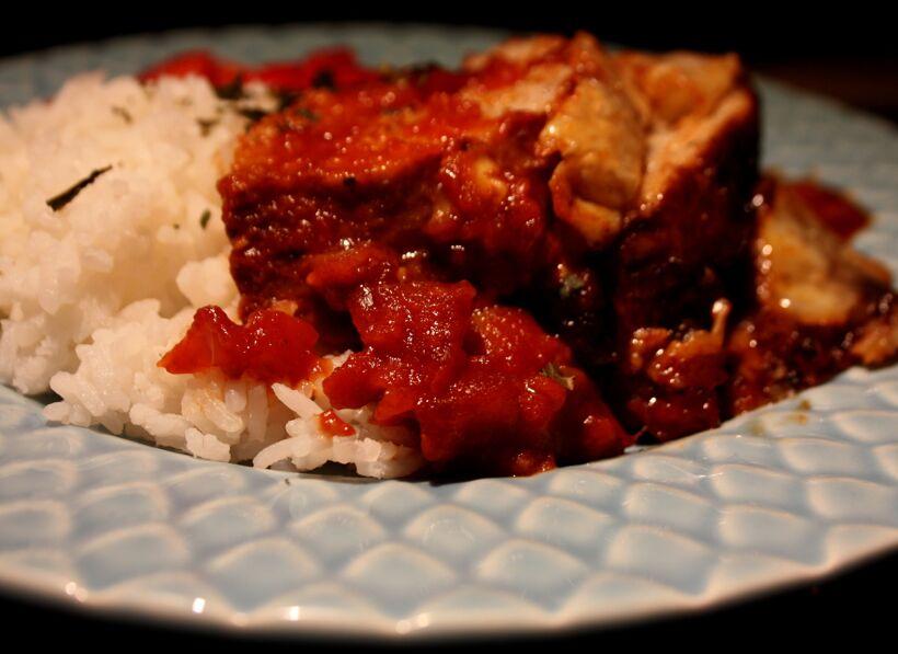 oregano köttfärslimpa