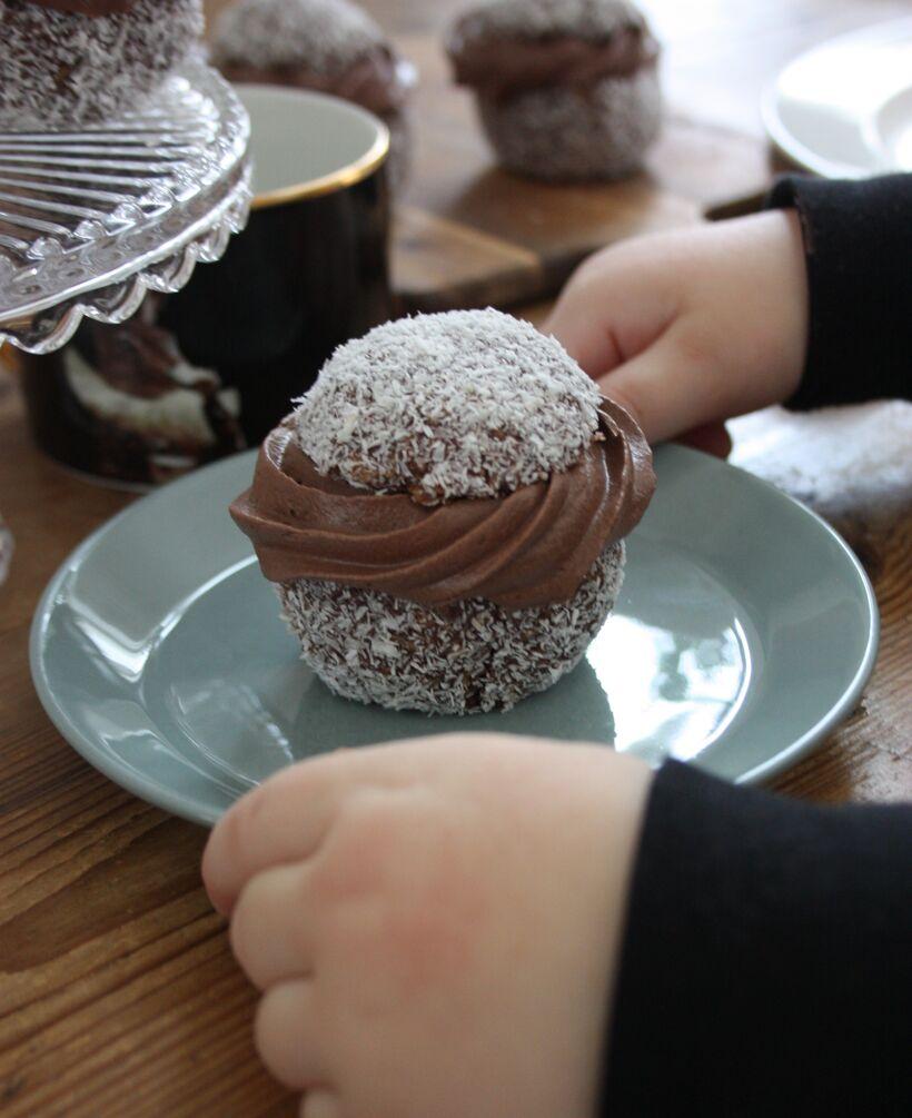 chokladbollssemlor