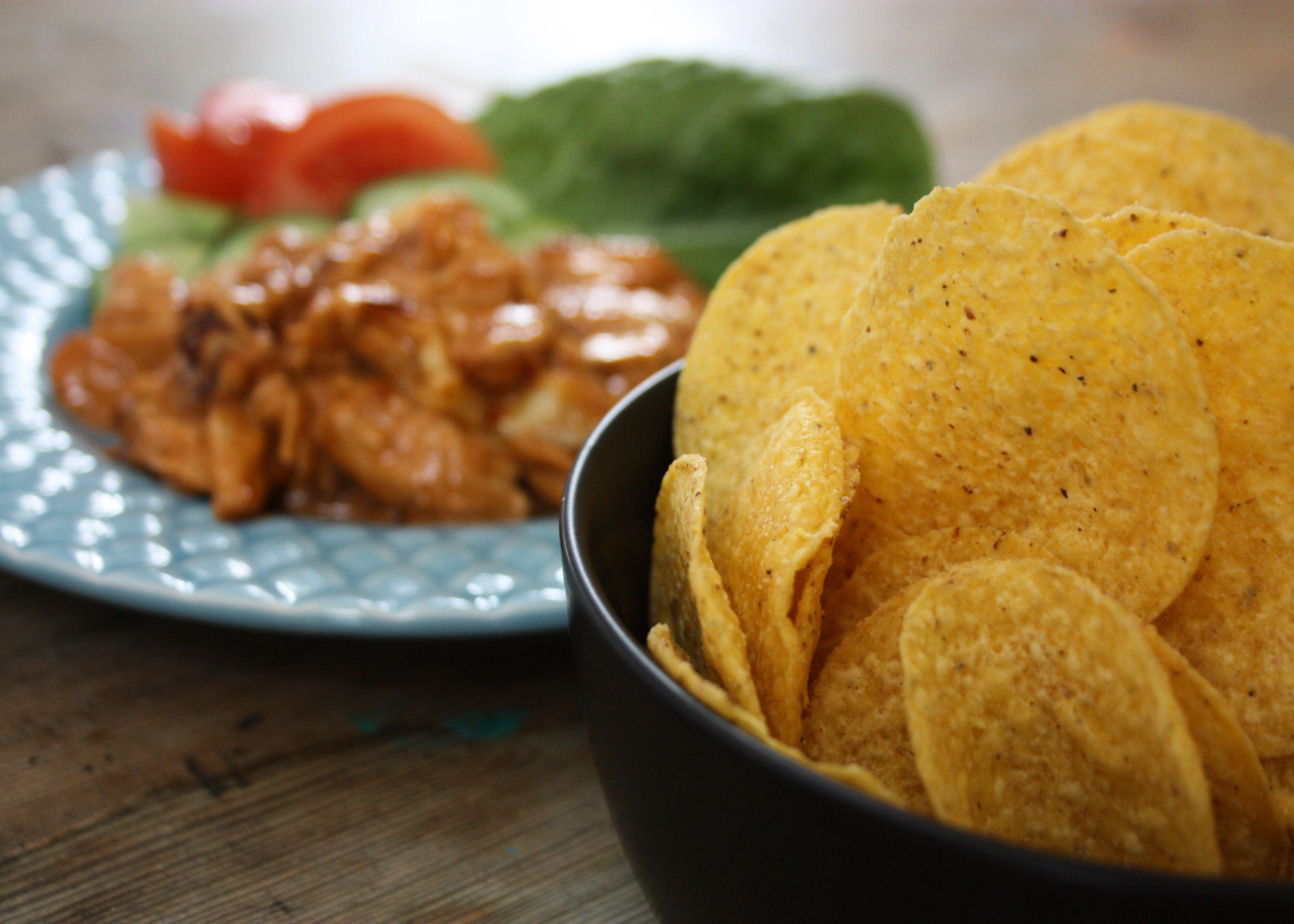 kycklingröra tacos