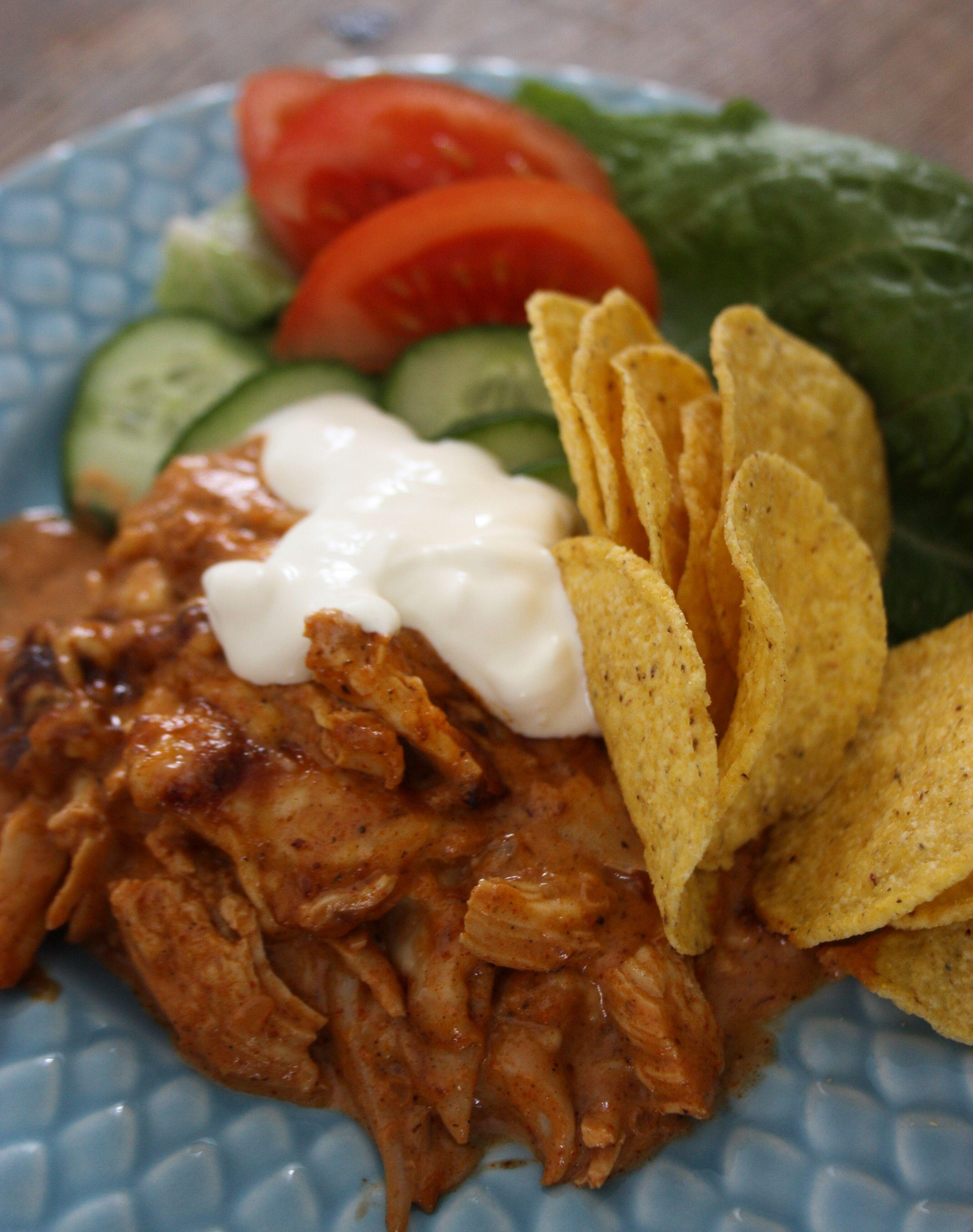 tacoskyckling recept