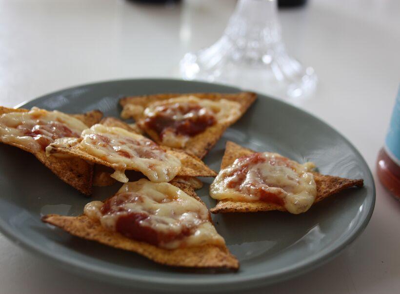 ostgratinerade nachos