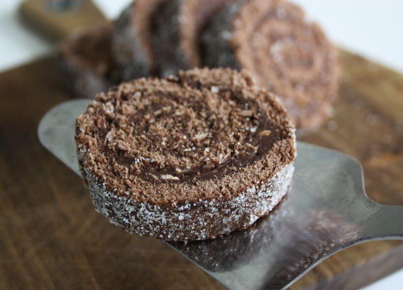 chokladbollerulltårta