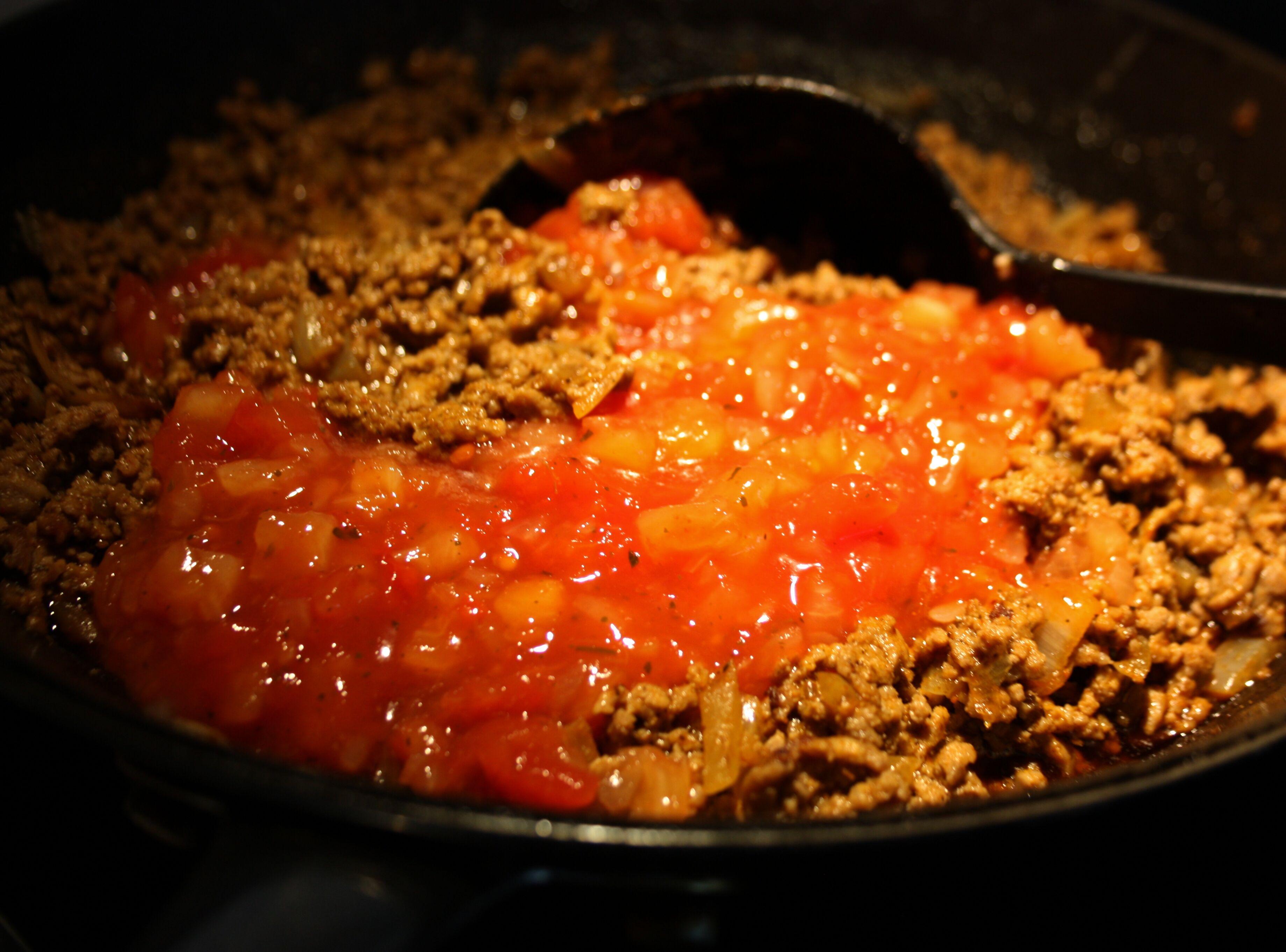 köttfärssås tacosalsan