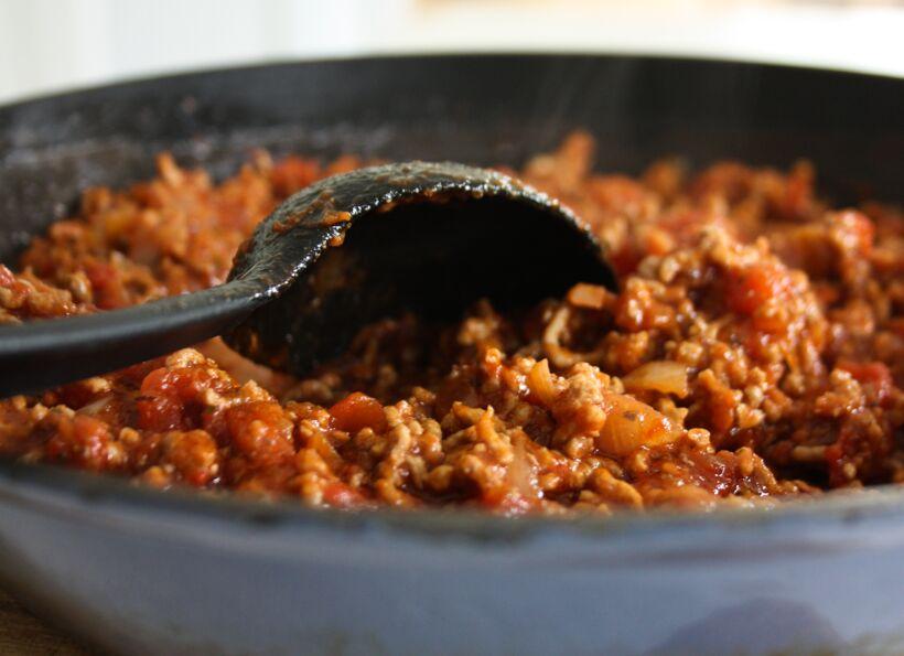 oregano köttfärssås