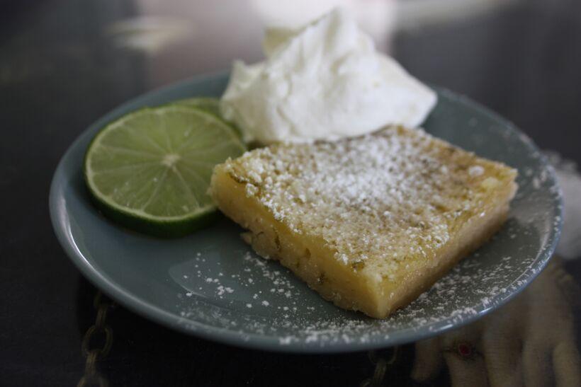recept lime kakor