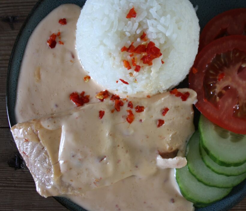 chilisås laxrecept