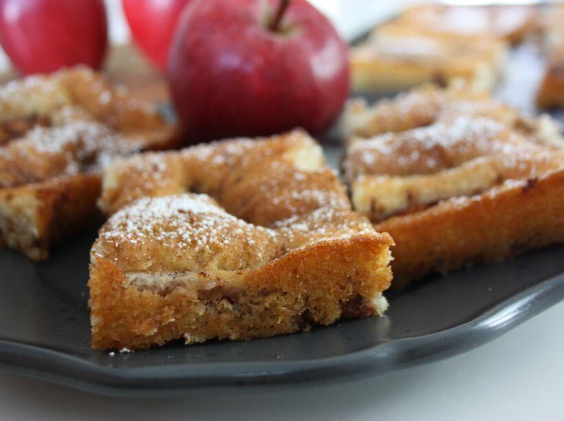 äpplekaka långpannekaka
