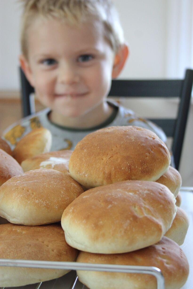 bilder bröd tekakor brödrecept