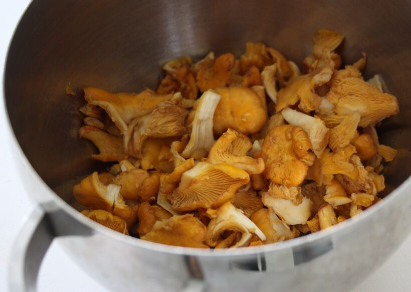 kantareller potatismjöl