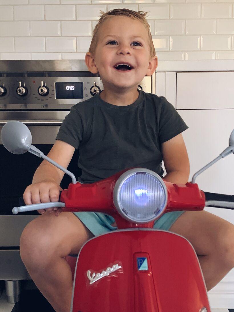 moped till barn