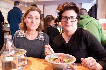 Anna Paljak och Lisa Eisenman