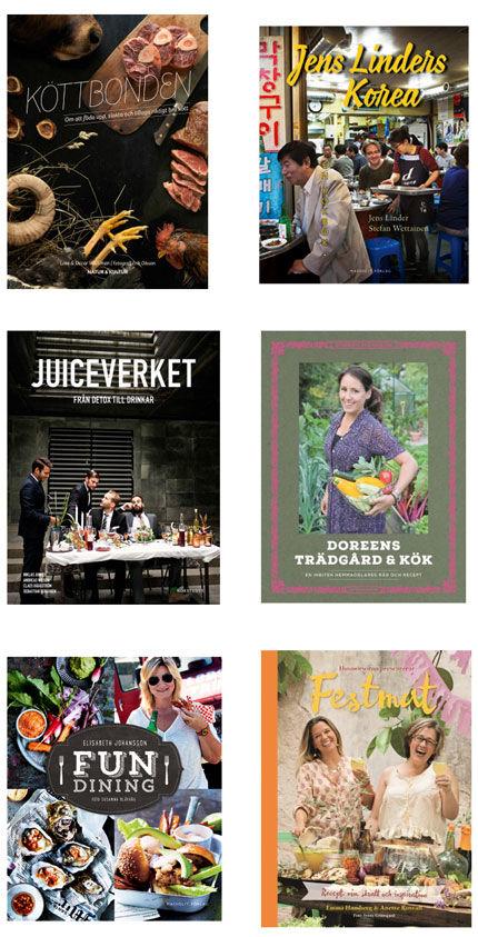 Kokböcker våren 2015