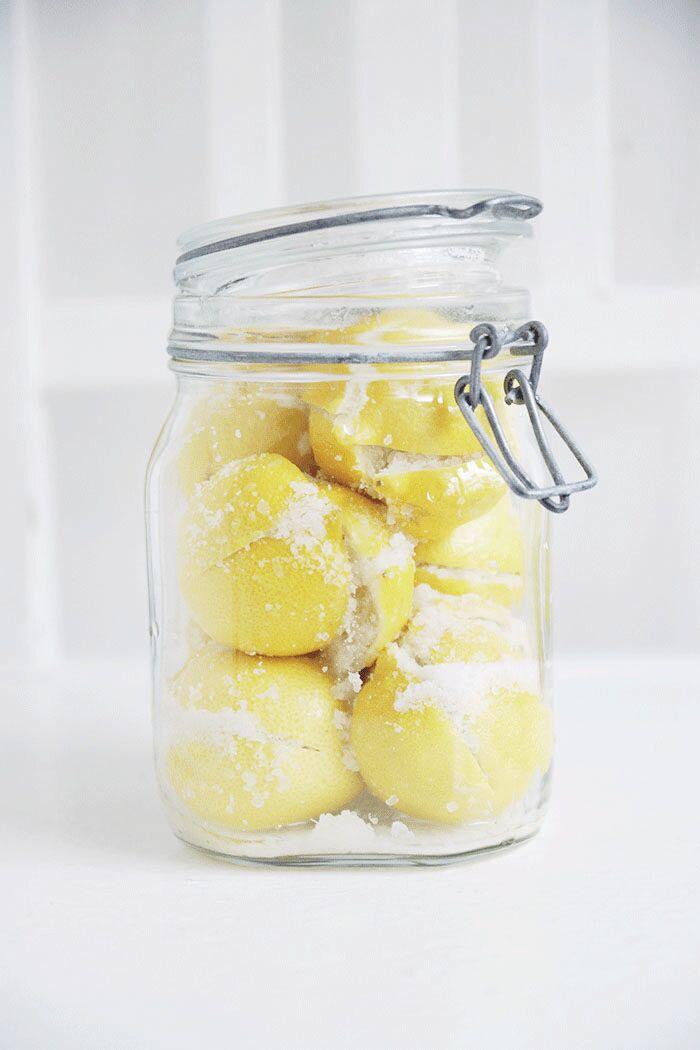 Konserverade citroner