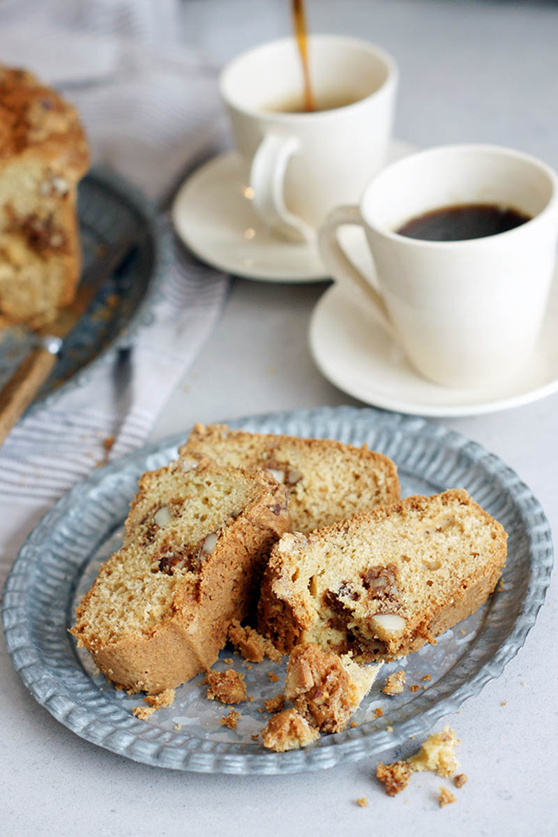 Coffee Cake with Almond Crumble