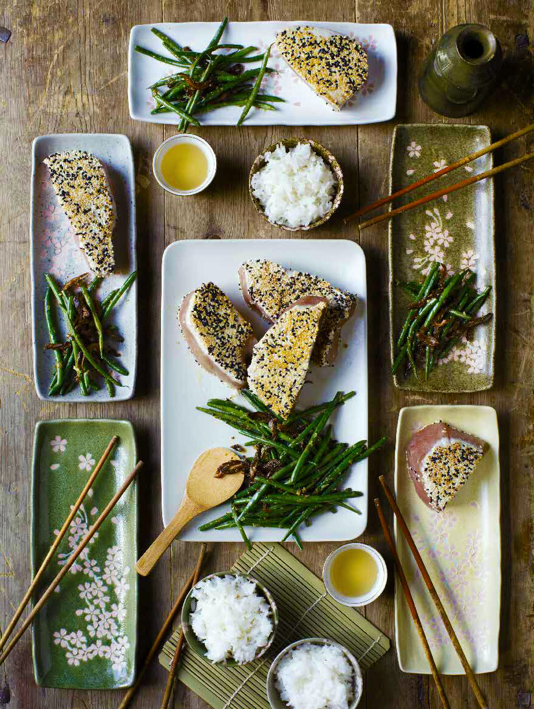 Halstrad tonfisk