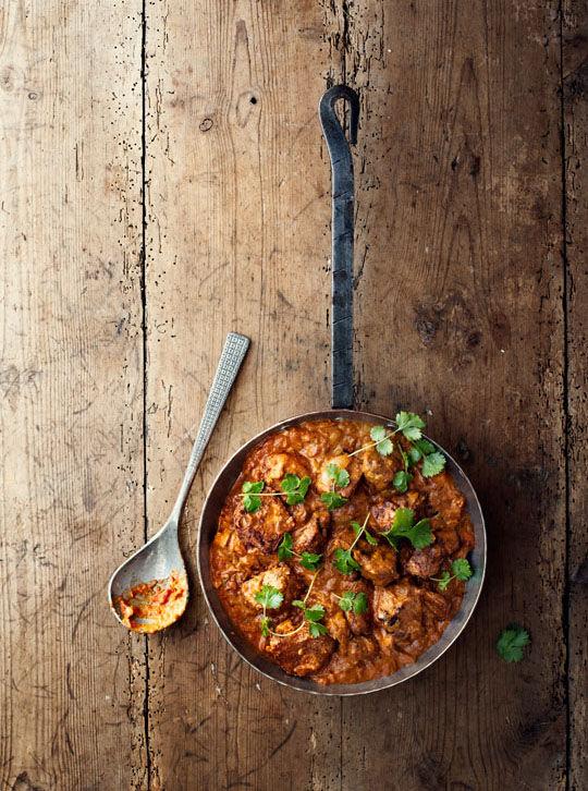 Krämig indisk chicken tikka masala