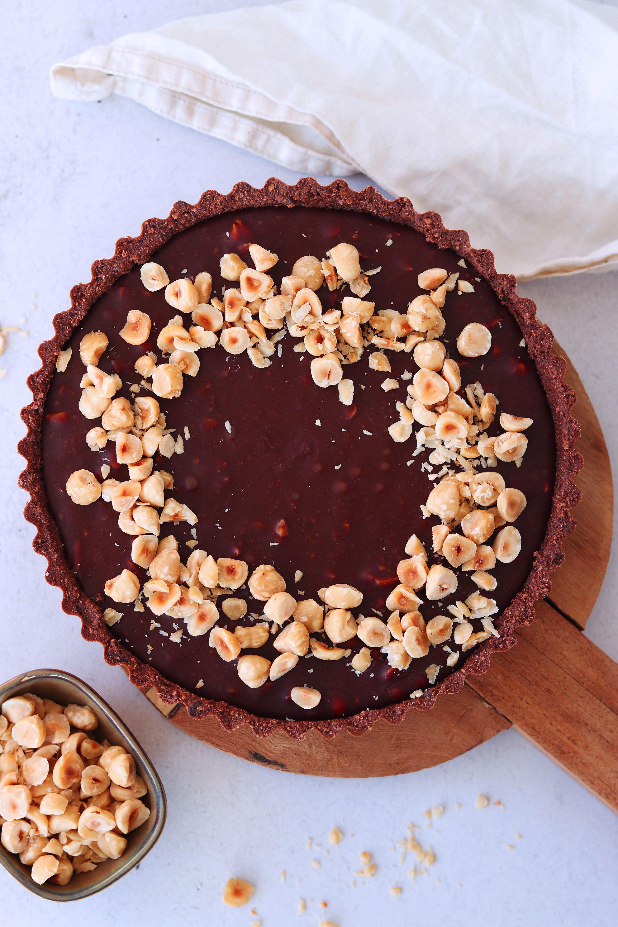 vegansk kexchoklad paj