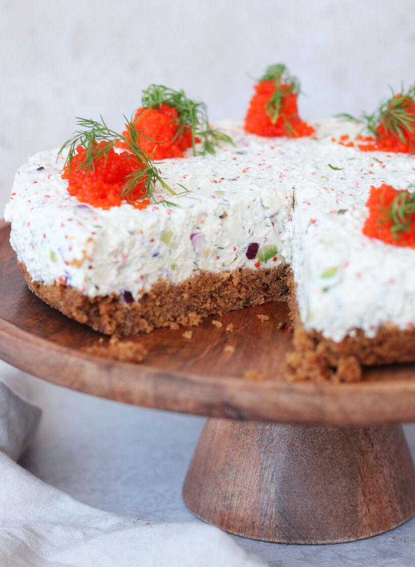 vegansk skagencheesecake