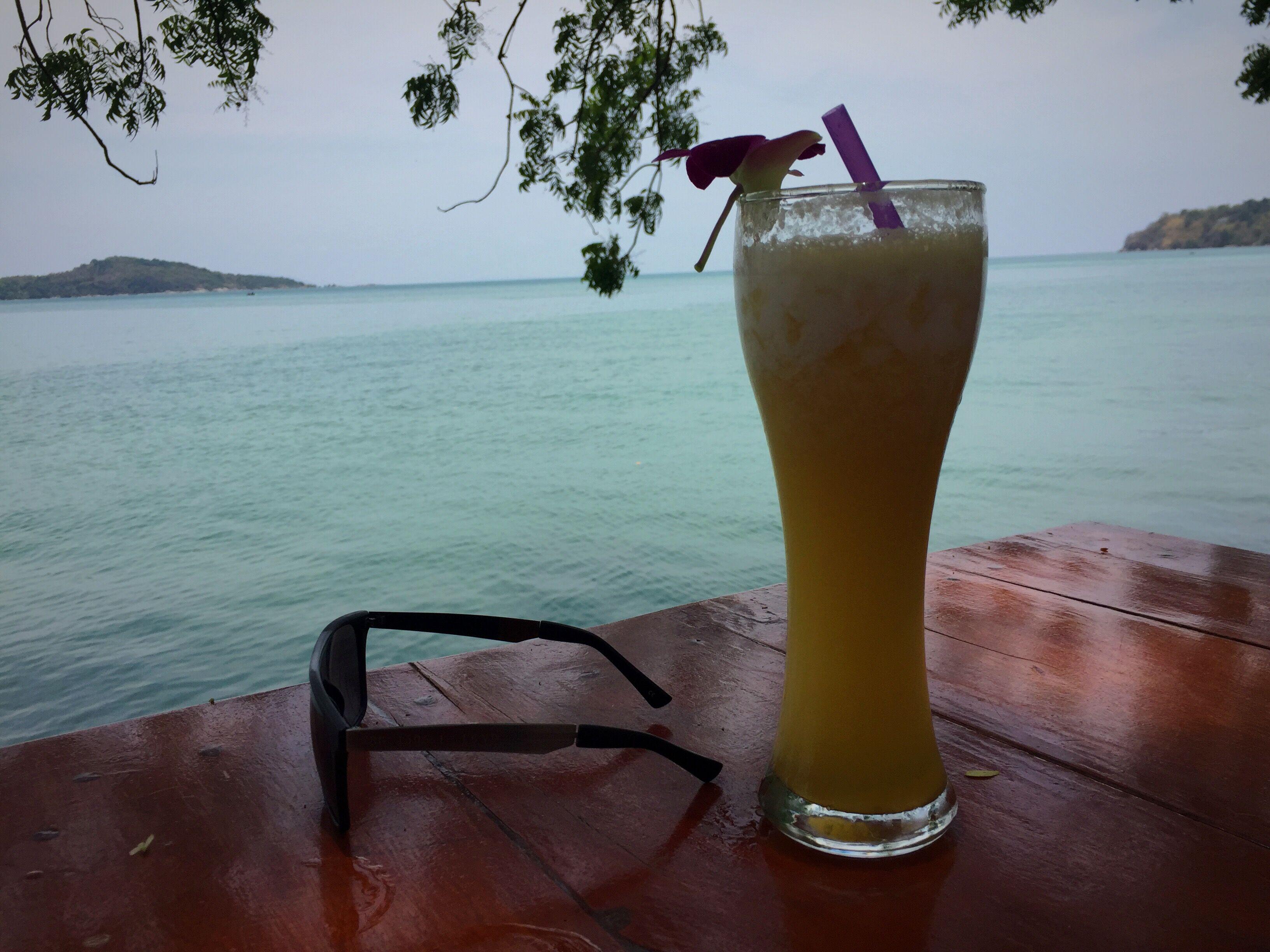 Ananas shake och nya solglasögon från Scorette.