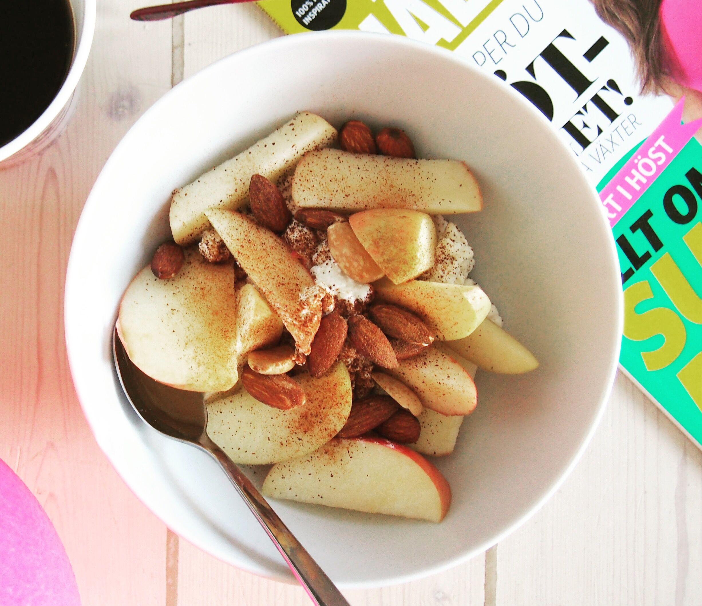 """""""Malins mellis"""" – keso med äpple och kanel"""
