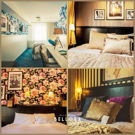 Sov som en drottning på Hotel Bellora.