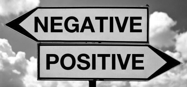 negativ vs postiv
