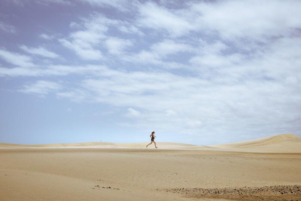 Lisa Beskow - löpning i öknen