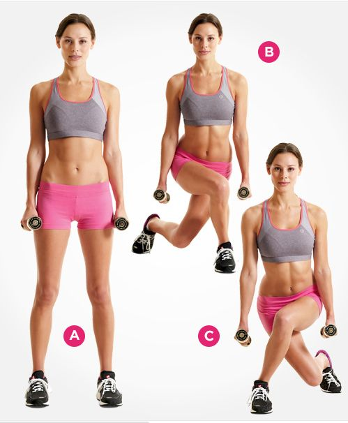Crossed lunges
